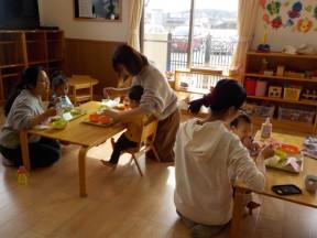 Photo:2月8日(金)子育て支援の様子