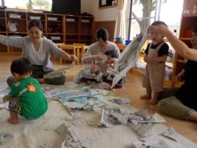 Photo:6月14」日(金)子育て支援の様子