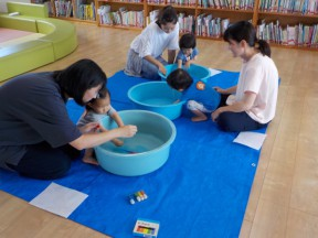 Photo:7月17日(水)子育て支援の様子