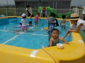 Photo:8月2日(金)子育て支援の様子