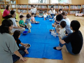 Photo:8月23日(金)子育て支援の様子