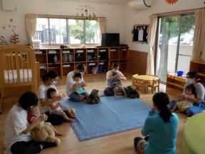 Photo:7月31日(金)子育て支援の様子